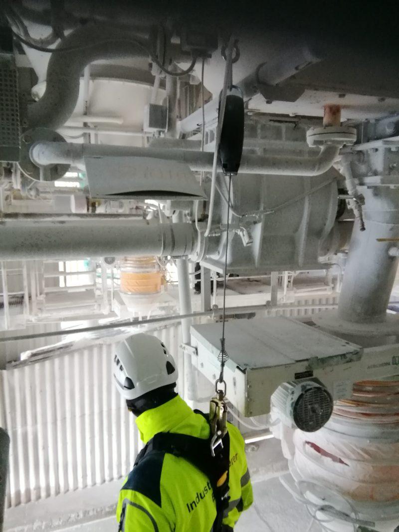 ikb industrieklettern silos